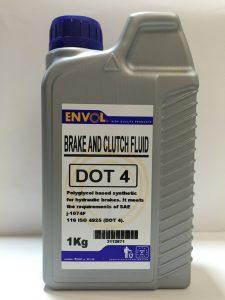 dot4 brake fluid bluoil