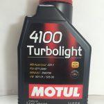 motul 4100 turbolight 10w40 bluoil