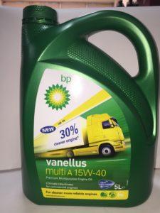 BP Vanellus Multi A 15W40