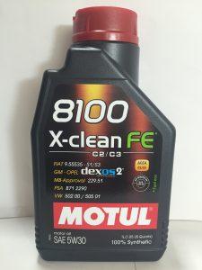 MOTUL 8100 X-CLEAN FE SAE 5W30