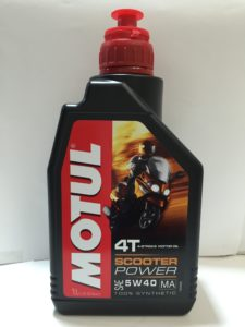 Motul 4T Scooter Expert 10w40 Technosynthese
