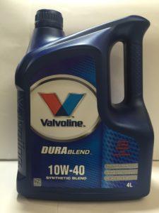 VALVOLINE Durablend 10W-40