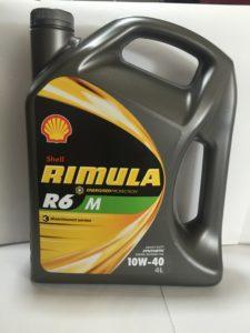 shell rimula r6 10w40 4L