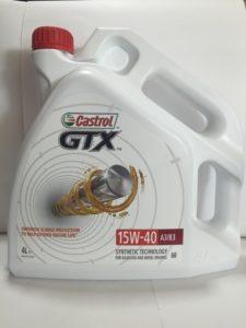 Castrol GTX 15W40